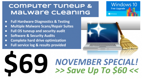 November 2015 Cleanup Special - $69