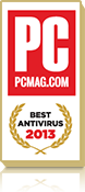 PC Magazine Best Anti-Virus - 2013