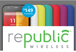 Republic Wireless - Get unlimited Talk/Text/3G Data for $25 a month!